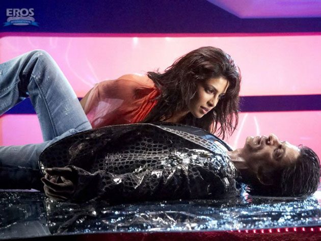 SRK and Priyanka's photo