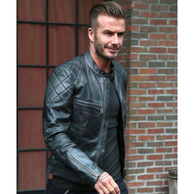 David Beckham Jacket Photo