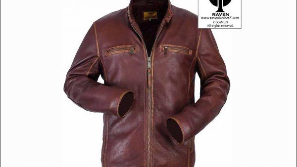 Vintage Look Jacket Slim Cut:06