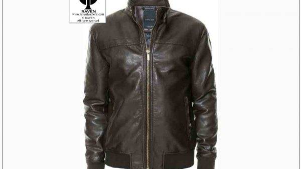Black Bomber Jacket RW:14