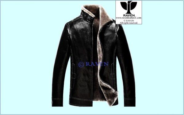 Fur Lining Jacket Slim Cut:08 photo