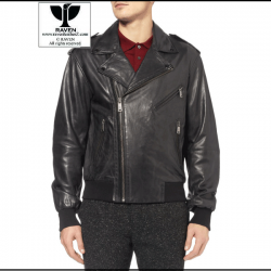 RW:04 Men's Genuine Leather Classic Motor Rider Jacket