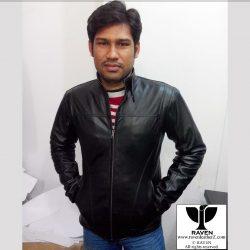 CMZ:02 Men's Genuine Leather Casual Outerwear Jacket