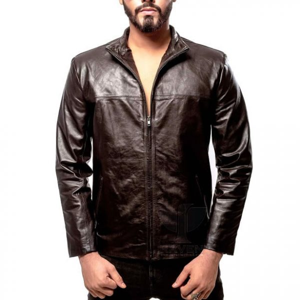 RS-04 Mens Genuine Leather Party Jacket