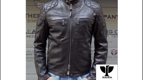 Quilting Shoulder Moto Jacket RR:08