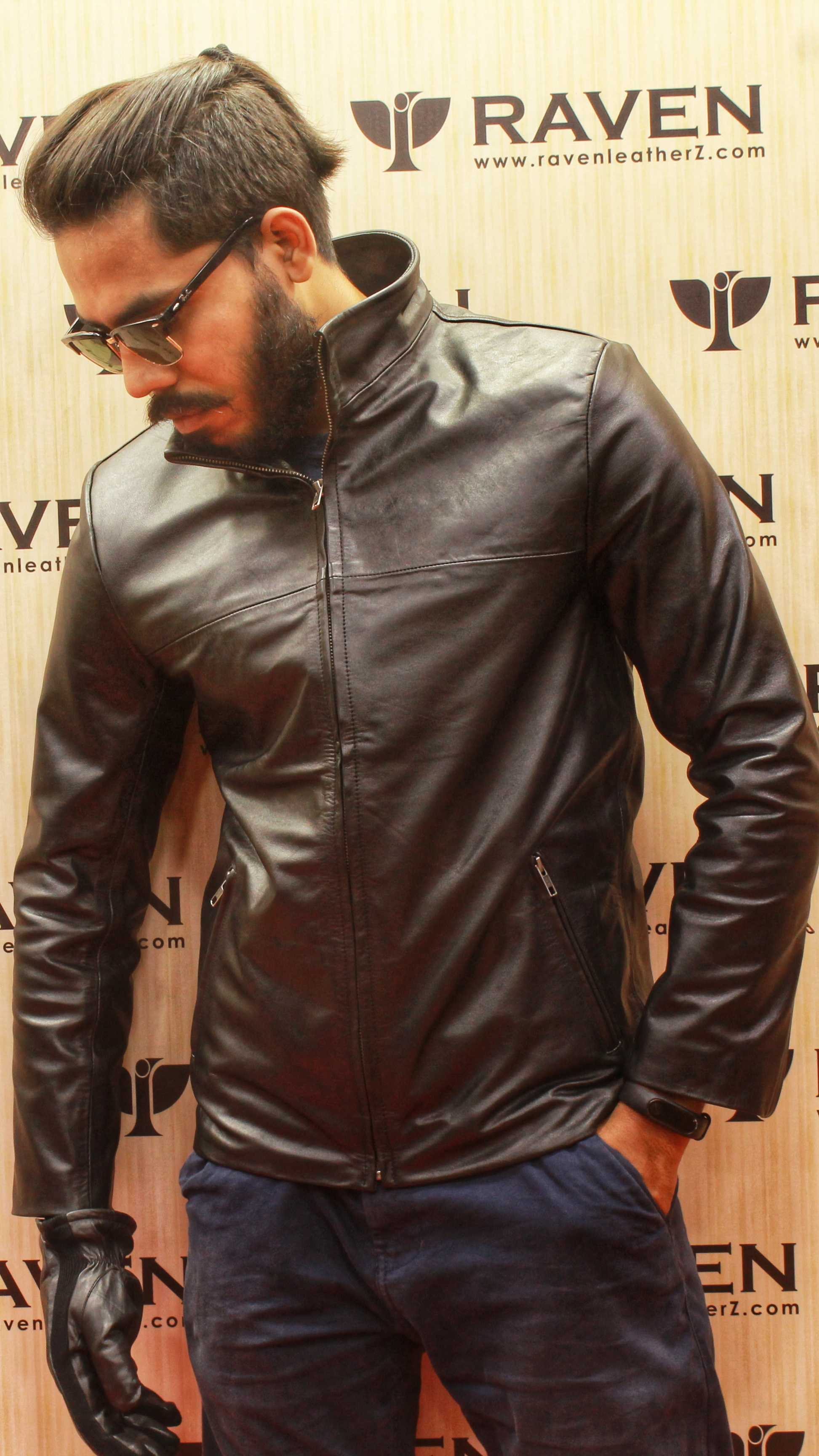 RS:04 Men's Genuine Leather Party Jacket