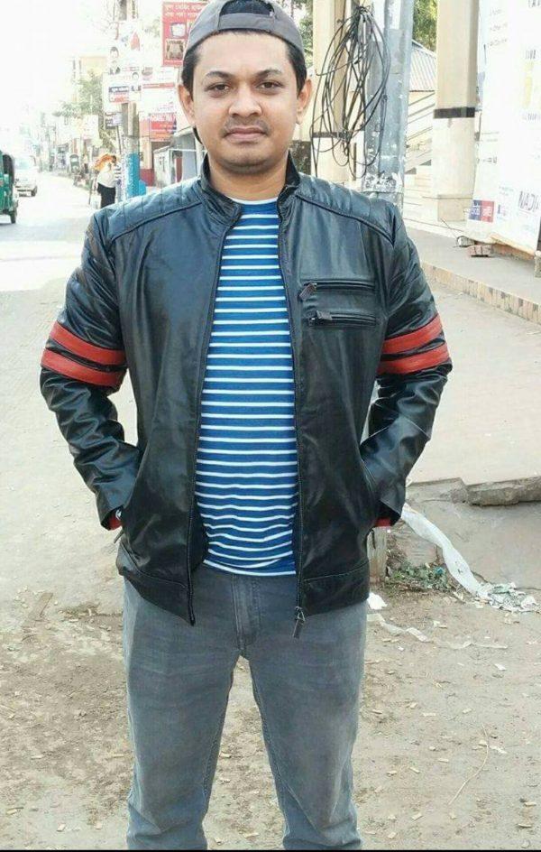 Leather jacket Price in Bangladesh RA:02