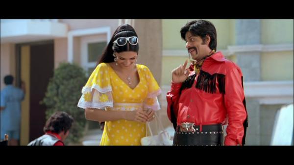 SRK and Deepika's photo