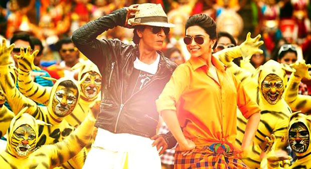 Phoyo of SRK and Deepika in chennai express