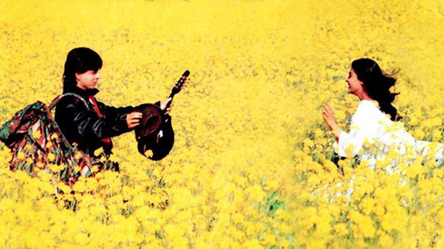 SRK and Kajol's photo of Dilwale Dulhania Le Jayenge