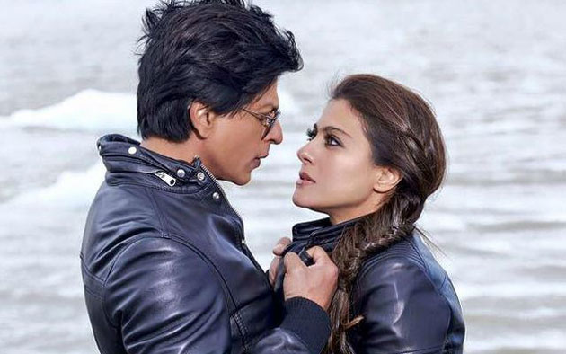 SRK and Kajol's photo