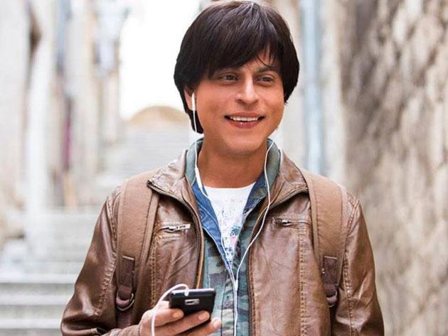 SRK photo of fan
