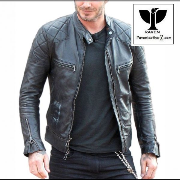 David beckham's leather jacket BR:02