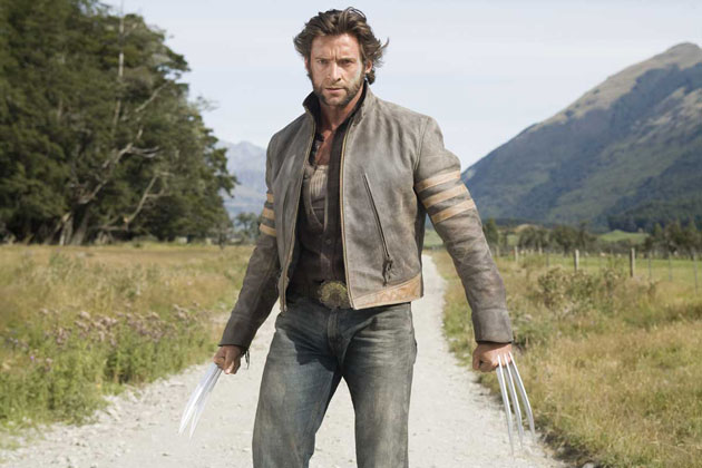 X-Men: Origins Wolverine with iconic Leather Jacket