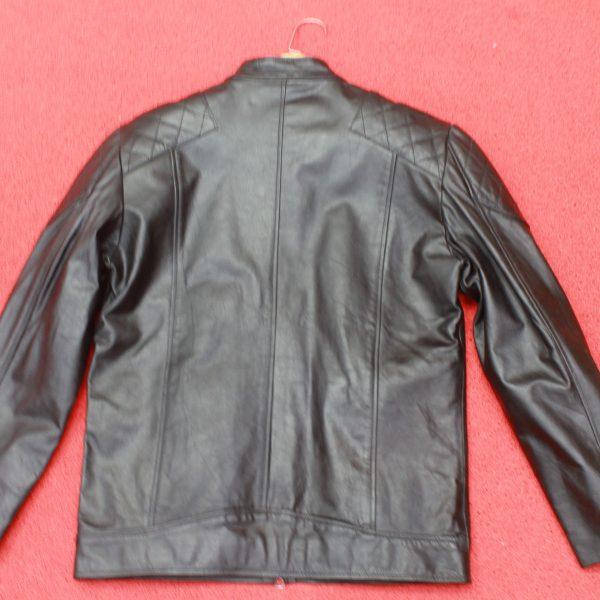 BR02 David beckham's leather jacket original photo
