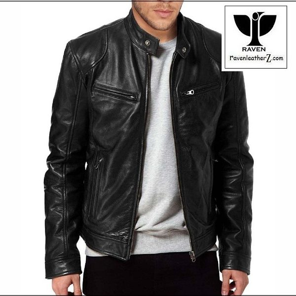 RAVEN Leather Jacket RA 20 Black Edition