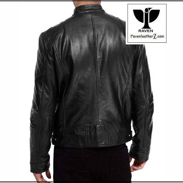 Image of RAVEN Leather Jacket from Dhaka Bangladesh