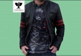 RA:02 Men's Genuine Leather Stylish Motor Rider Jacket