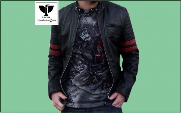 Photo of stylish motor rider jacket RA:02