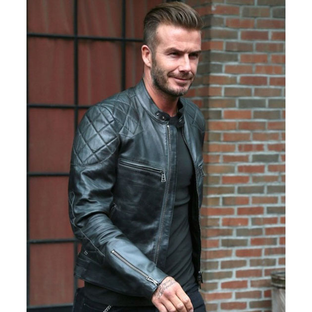 David Beckham Jacket Photo