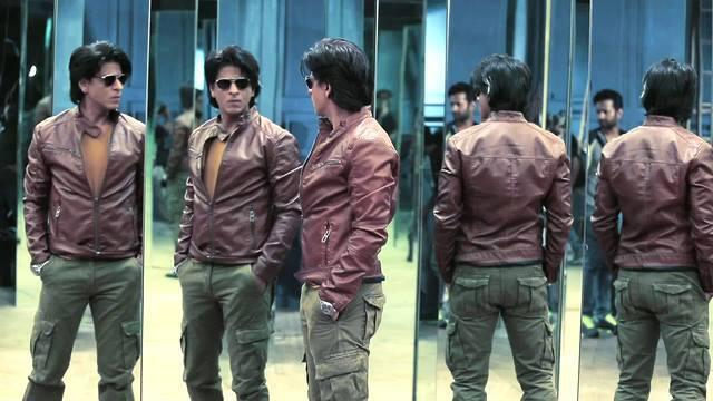 Shahrukh Khan Leather Jacket in Happy New Year Movie