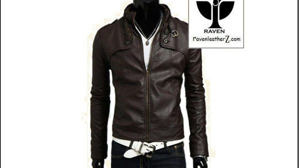 photo of slim fit motorcycle rider jacket RC:08