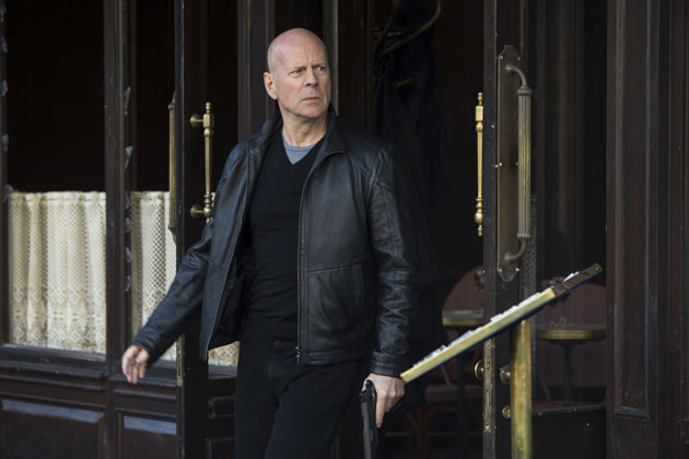 Bruce Leather Jacket photo of Red 2