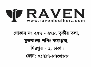 Showroom Address of RAVEN