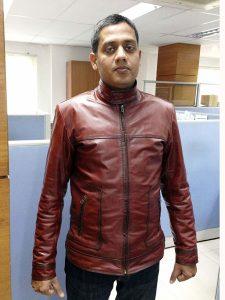 Customer photo of RAVEN custom made jacket