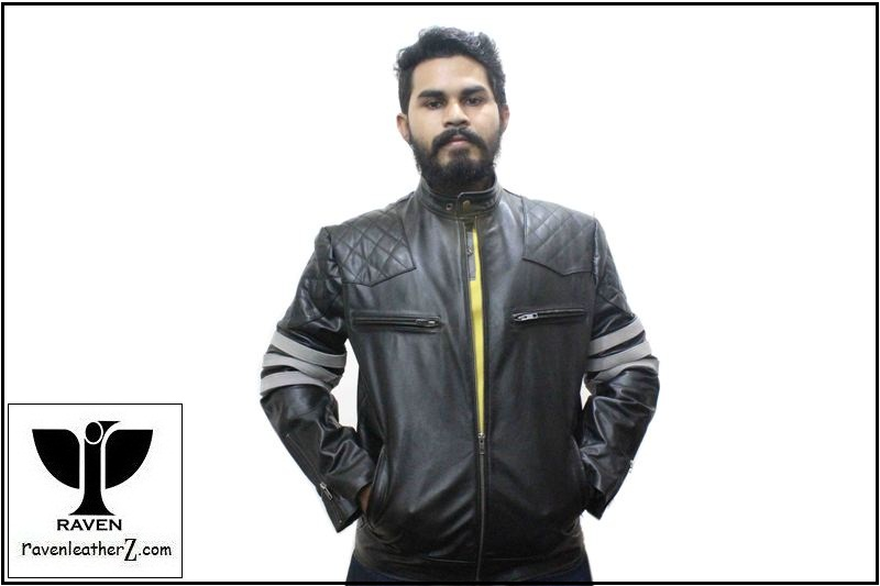 RAVEN Leather Jacket Winter 201-18