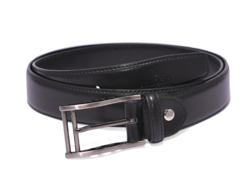 Black Cheap Quality Leather Belts