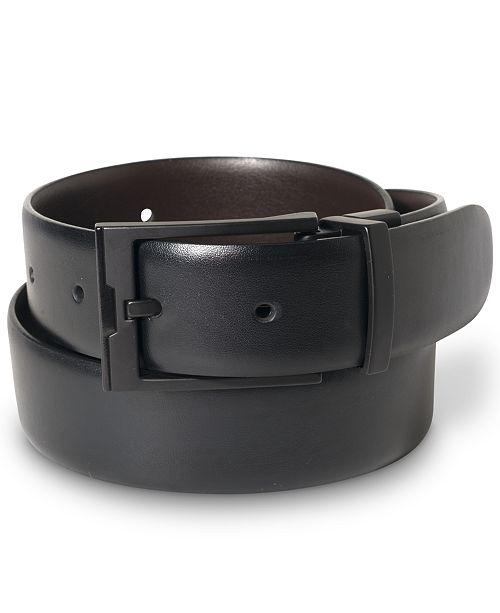 Black Color Genuine Leather Executive Belt for Men