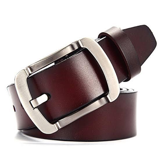 Duel Tone Genuine Leather Belt For Men in BD