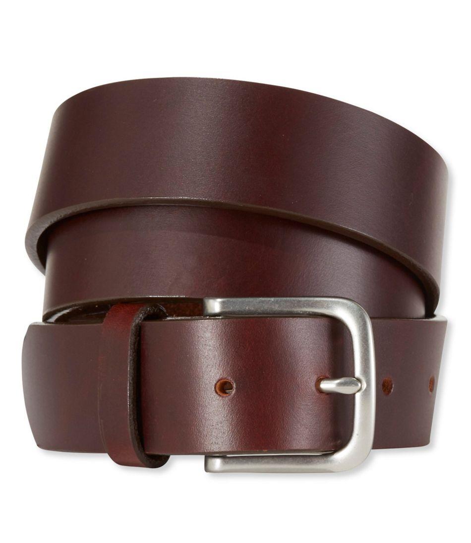 Reddish Maroon Color Genuine Leather Belt For Men