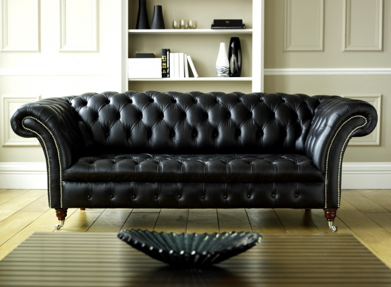 Genuine Leather Furniture For Drawing Room