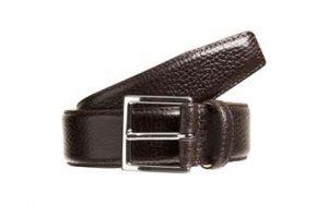 Dark brown color Original Leather Belt in Dhaka Bangladesh Photo