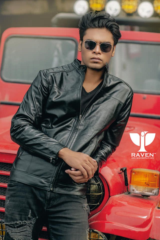 RX-06 Black Quilted Rider Jacket for Men