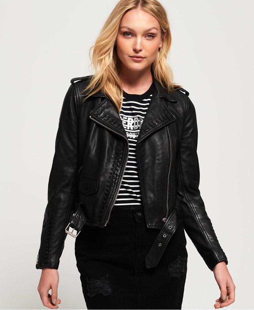 Black Cropped Slim Fit Unisex Women Jacket with waist belt