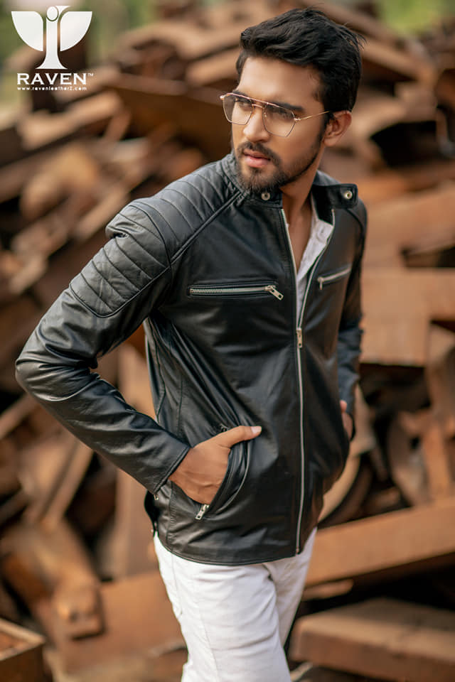 RX-02 Slim Fit Cropped Quilted Racing Jacket