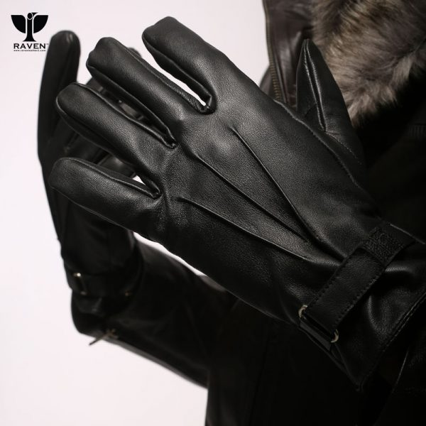 RFG-1 Genuine Sheep Leather Full Hand Gloves with Loop Closure