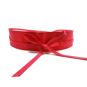 Red Ladies leather belt buy online in Dhaka Bangladesh