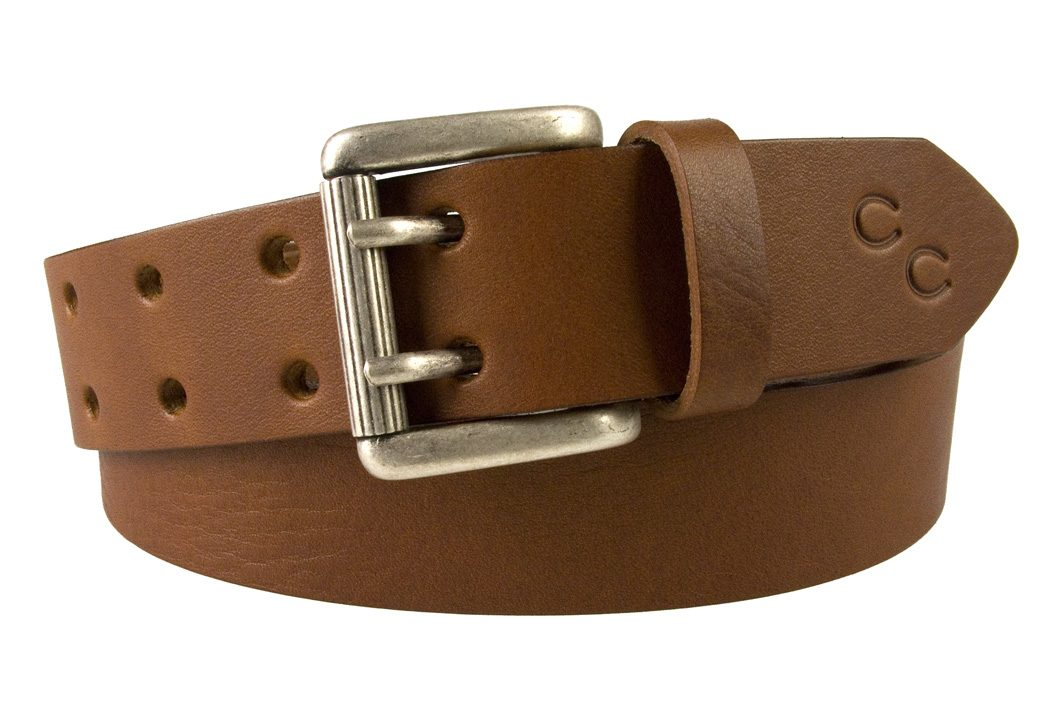 Ladies-Tan-Leather-Belt