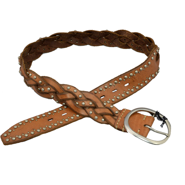 Stylish Braided Genuine Leather Ladies Belts