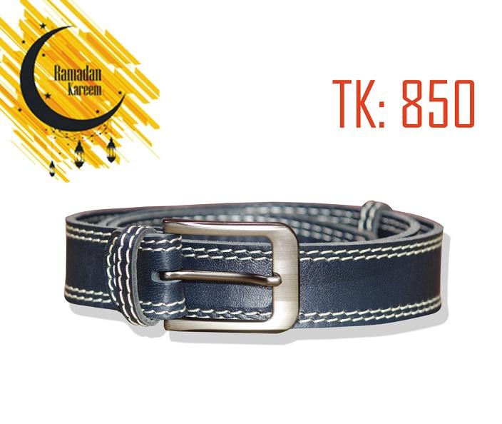 Bule color Original Leather Belt by RAVEN