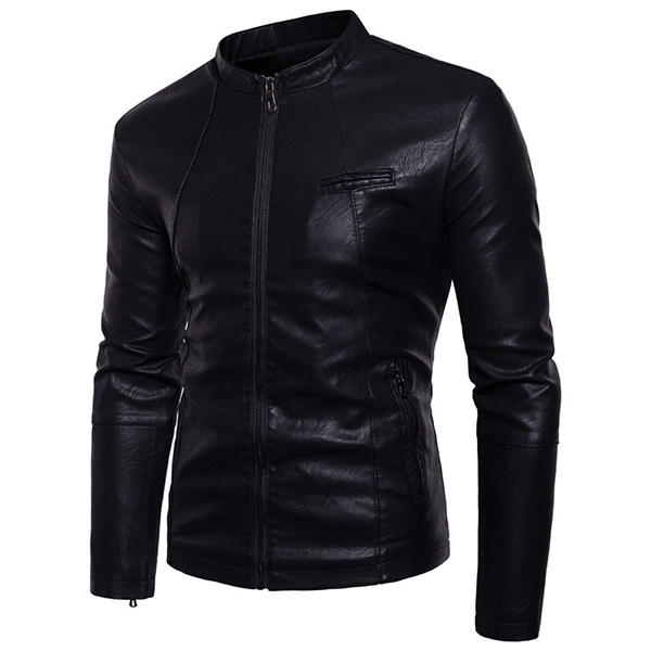 Black Stylish Racing Jacket