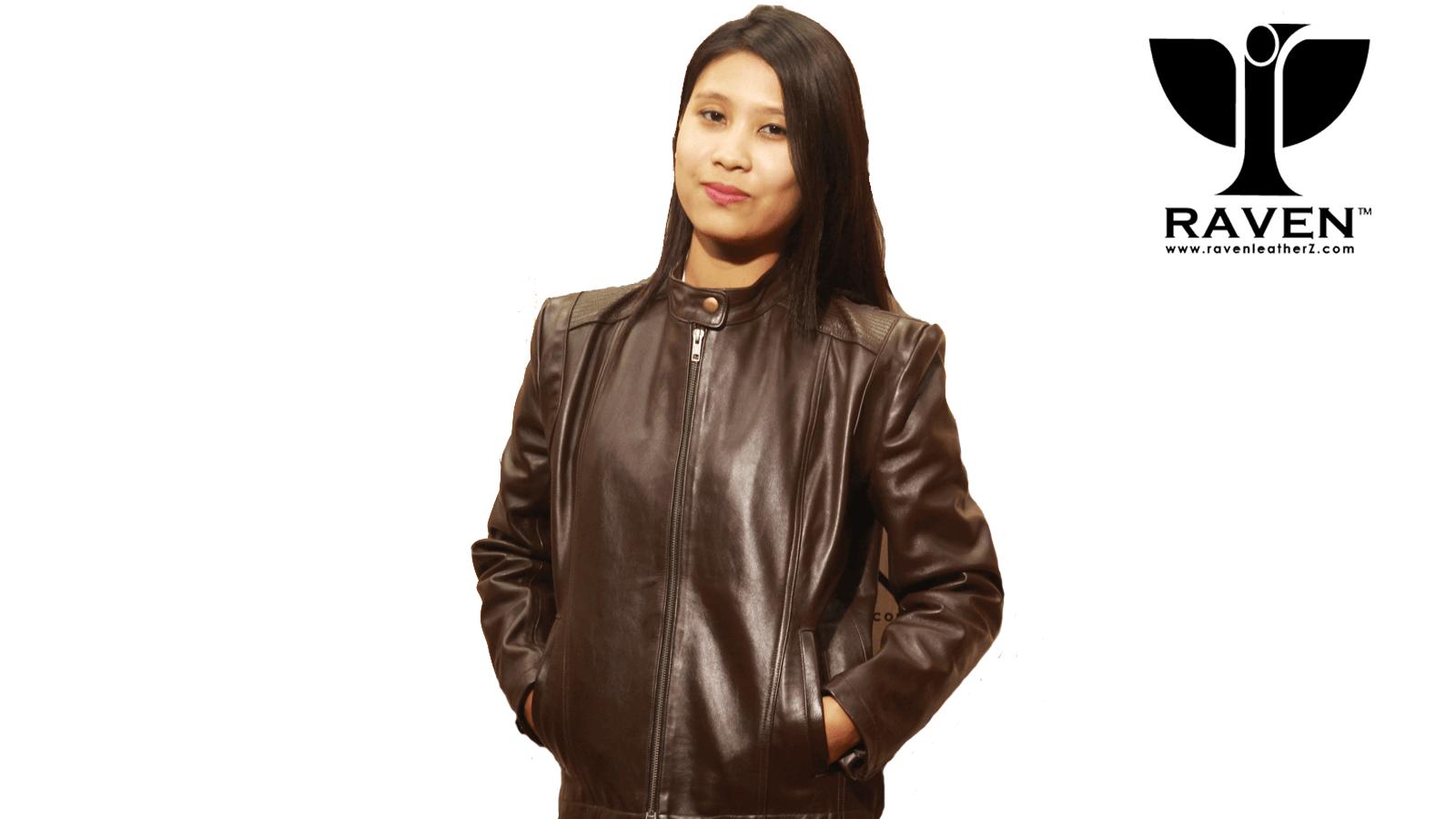 LR-26 Ladies Genuine Leather Jacket
