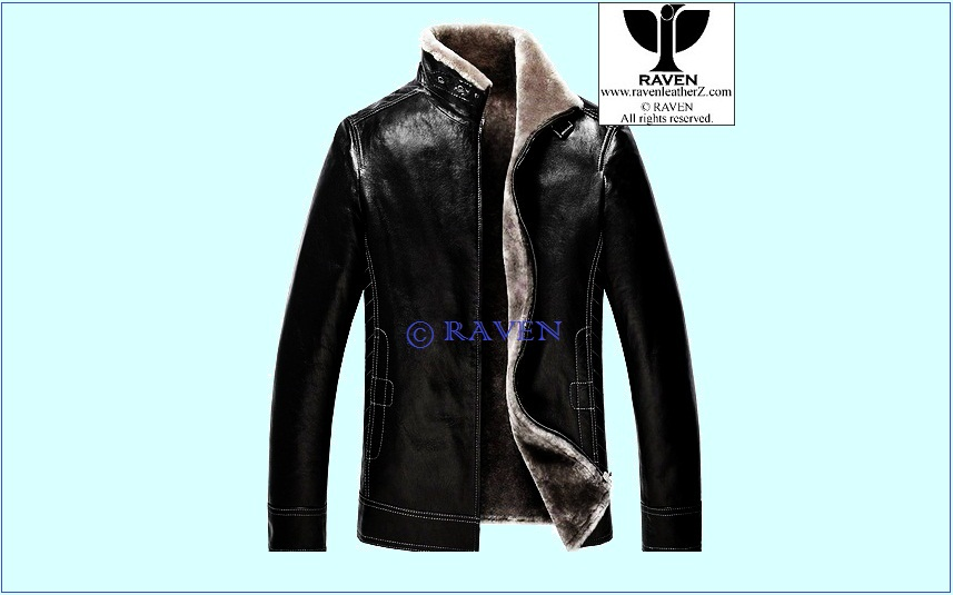 Types of Jacket in Bd: Men's Genuine Leather Fur Lining Jacket