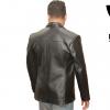 Mens Genuine Leather Jacket Backside by RAVEN Leatherz Dhaka Bangladesh