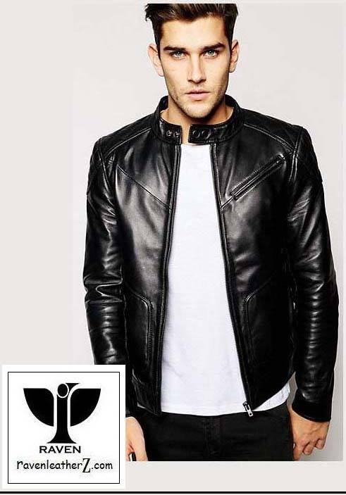 Types of Jacket in Bd: Men's Genuine Leather Motorcycle Rider Jacket