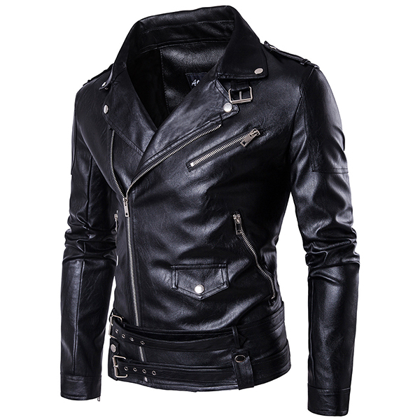 Slim Fit Hybrid Biker Jacket